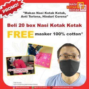 beli 20 box gratis masker